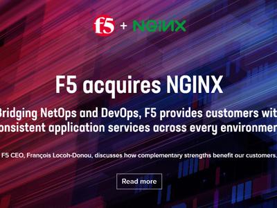 マルチクラウド時代の魅力あるアプリケーション企業へ  F5によるNGINX買収の背景