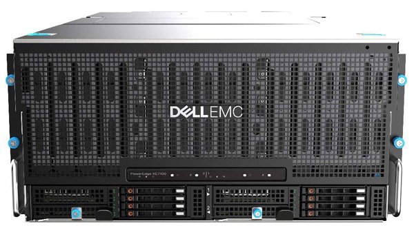 写真1:Dell EMC PowerEdge XE7100の外観