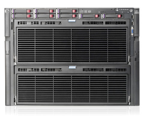 HP ProLiant DL980 Generation7の外観