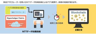 クラウドとSDKでブロックチェーンを短期導入、NTTデータ先端技術がSIサービスを開始