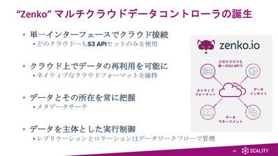 図2●Zenkoマルチクラウドデータコントローラの概要(出所:スキャリティ・ジャパン)