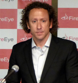 写真:米FireEyeでCTO(Chief Technology Officer)を務めるDave Merkel氏